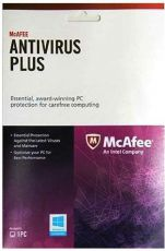 Антивирус McAfee AntiVirus Plus 2013 1ПК (BXMAV1YRRUS927707)