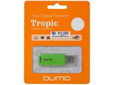 Флешка Qumo Tropic 8Gb Green