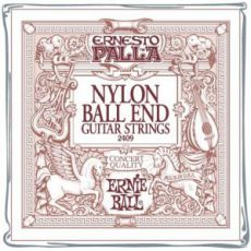 Гитарные струны Ernie Ball EB-2409 NB Nylon Ball End, acoustic guitar strings