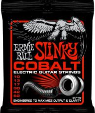 Гитарные струны Ernie Ball EB-2715 Cobalt Skinny Top, electric guitar strings