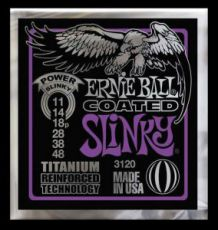 Гитарные струны Ernie Ball EB-3120 Power Slinky-Coated, electric guitar strings