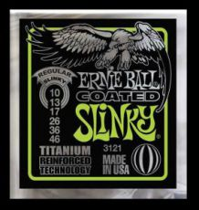 Гитарные струны Ernie Ball EB-3121 Regular Slinky-Coated, electric guitar strings