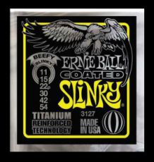 Гитарные струны Ernie Ball EB-3127 Beefy Slinky-Coated, electric guitar strings