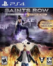 Игра для PS4 Sony PS4: Saints Row IV - Re-Elected