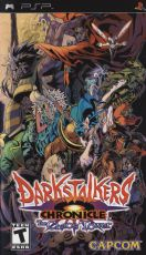 Игра для Sony PlayStation Capcom Darkstalkers Chronicle: The Chaos Tower (PSP)