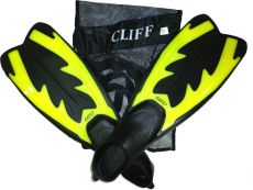 Ласты Cliff DRF-F367 XS Yellow