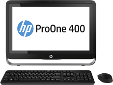 Моноблок HP ProOne 400 G1 (Core i5/4570T/2900Mhz/4096Mb/1Tb/19.5/DVDRW/WiFi/BT/W8.1P)