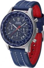 Наручные часы Detomaso Firenze Chronograph Dial Leather SL1624C-BL Blue