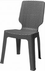 Стул для дачи Curver Chair 205819 Dark grey