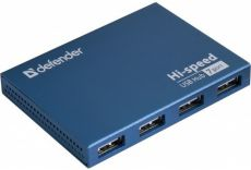 USB-Хаб Defender SEPTIMA SLIM Blue