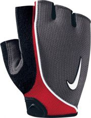 Велосипедные перчатки Nike, Inc. 9.092.257.091 MNS Lightweight Cycling Gloves Grey black red S